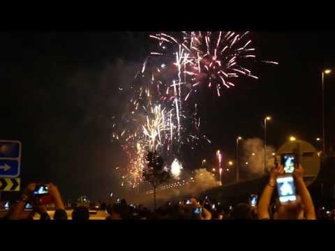 Second Penang Bridge Firework