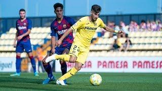 Resumen Villarreal B 0-1 Barcelona B