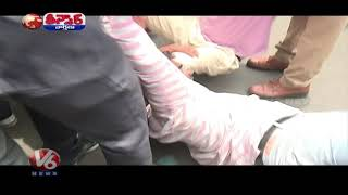 Telangana Opposition Party Leaders Protest Against Inter Fault Results | Teenmaar News