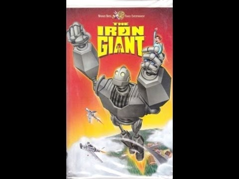 Opening To The Iron Giant 1999 VHS