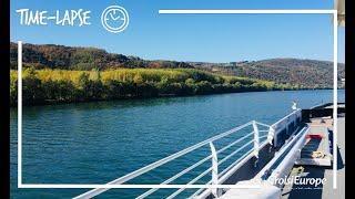Time-lapse le Rhône en croisière | Time-lapse Rhone