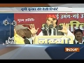 Akhilesh Yadav and Mahesh Sharma takes on each other their rallies in UP- Video