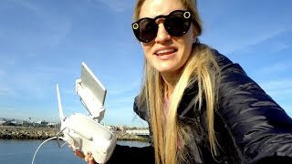 Flying under bridges! | iJustine