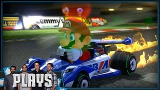 Let's Play Mario Kart 8 200cc - Kinda Funny Plays