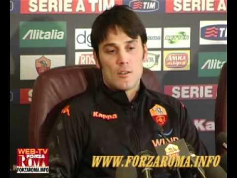 Vincenzo Montella - Conferenza stampa di presentazione 22/02/2011 INTEGRALE