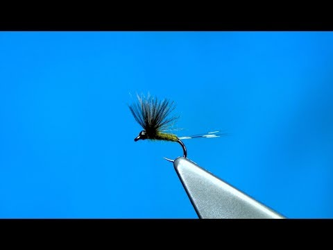 Tying a Small CDC Dun (Dry Fly) with Davie McPhail