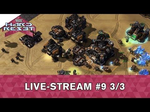 Rocket Beans' Hard Reset (Probably Archery, Community Game: Starcraft 2) Folge 9 - 3/3