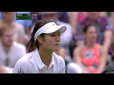 Highlights Day 1: Li Na v Kania 1R - Wimbledon 2014