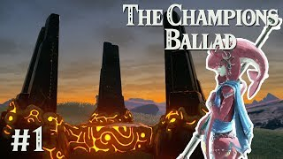 SUPER SECRET STAIRCASE: Zelda BotW The Champions Ballad #1
