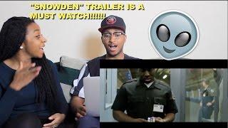 """Couple Reacts : """"SNOWDEN"""" Official Trailer Reaction!!!"""