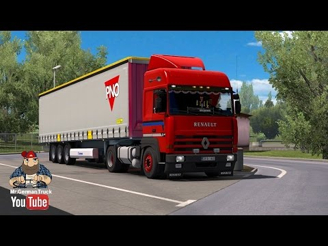 [ETS2 v1.26] Renault Major v2.0 + Cabin DLC ready