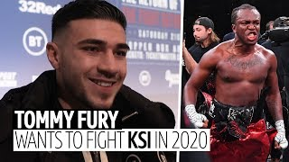 """I want to fight KSI in 2020!"" Tommy Fury challenges KSI to take on a professional boxer"