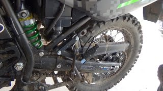 Chain Adjustment KLR