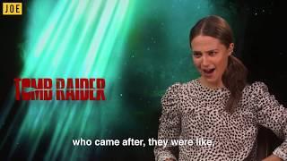 Tomb Raider: JOE speaks to Lara Croft (Alicia Vikander)