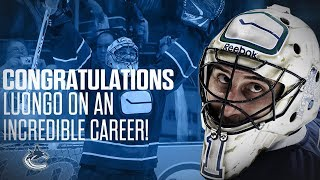 Congratulations on your NHL Retirement Luongo!