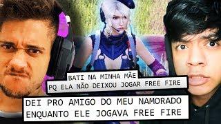 JOGADORES DE FREE FIRE SÃO DOENTES