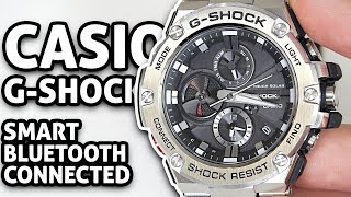 Smart Bluetooth Connected CASIO G-SHOCK Watch!