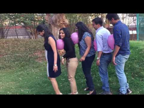 Team Building Activities - Balloon Race