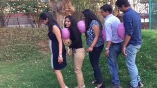 Team Building Activities - Balloon Race