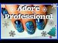 Простой дизайн Ногтей гель лаками Adore Professional / Simple Design Nail Gel varnishes