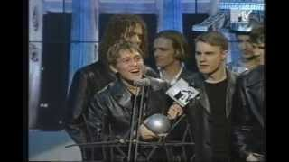 "Take That win Best Group at MTV Europe Music Awards 1994 + Perform ""Sure"""