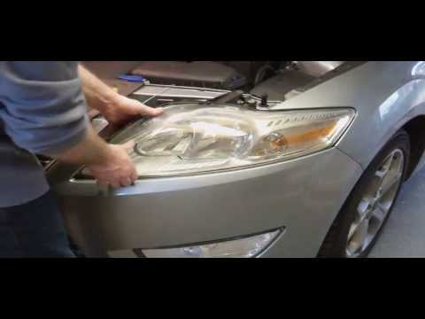 Replacing Car Headlight Bulbs - Ford Mondeo Mk4 (MkIV 2007 on)
