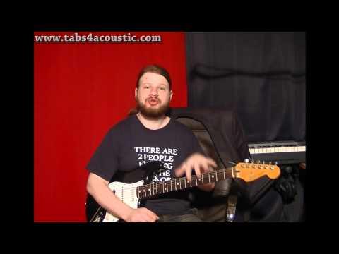 Cours De Guitare : Introduction Aux Gammes Pour Les Débutants - Partie 1