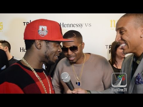 Nas and his Brother 'Jungle' talk Documentary NAS: Time is Illmatic at Tribeca Film Festival