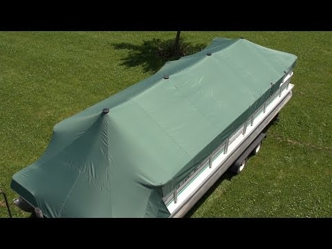 How to Make a Pontoon Boat Cover