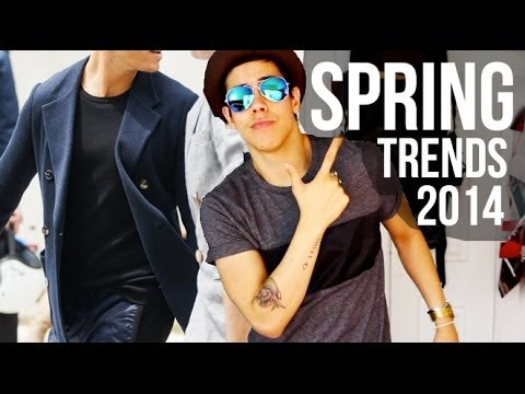 8 SPRING FASHION TRENDS & ESSENTIALS ➪ MEN'S WEAR 2014 | JAIRWOO