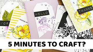 Only 5 MINUTES to CRAFT? Try Creating These!