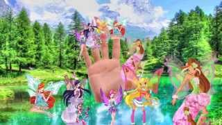 WINX CLUB FINGER FAMILY COLLECTION - Winx Family Finger Collection