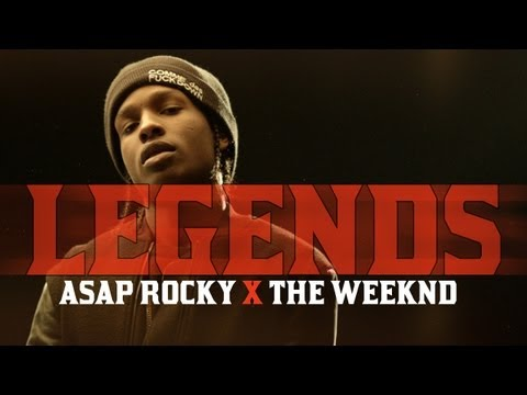 A$AP Rocky ft. The Weeknd - Legends | @Asvprocky @TheWeeknd