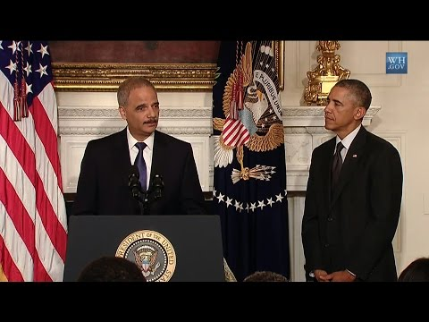 Eric Holder's Complex Legacy: Voting Rights Advocate, Enemy of Press Freedom, Friend of Wall Street