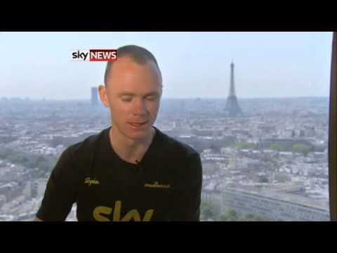 Chris Froome On Tour De France Win