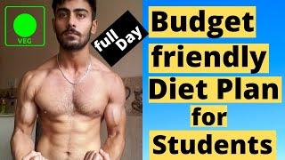 LOW BUDGET DIET PLAN for STUDENTS - Indian Bodybuilding Vegetarian Diet