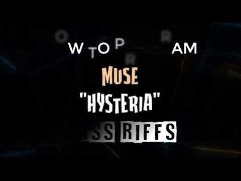 HYSTERIA Bass Riffs