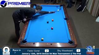 Fedor Gorst (RUS) - Skyler Woodward (USA). 9 ball. Race to 7