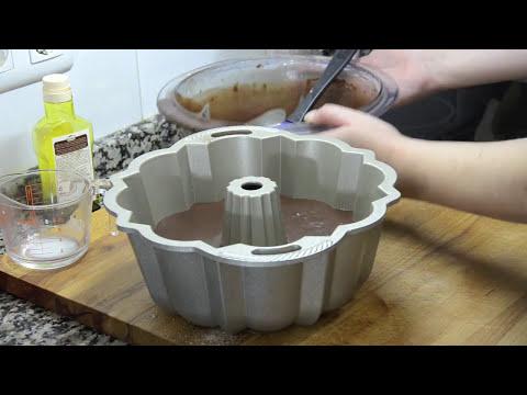 Bizcocho de chocolate y Guinnes