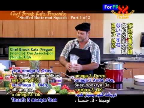 Chef Brook Katz Presents: Stuffed Butternut Squash (1/2)