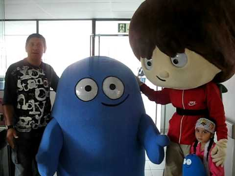 Visita de Cartoon Network a la FCI 2