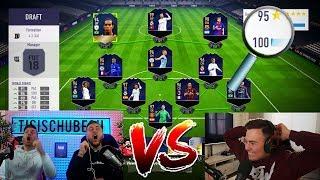 FIFA 18: DAS BESTE FUT DRAFT vs TISI SCHUBECH ❌✅ !? FIFA 18 ULTIMATE TEAM DRAFT CHALLENGE
