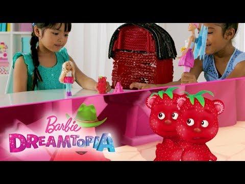 Barbie Dreamtopia Unicorn Barn Scene Recreation | Dreamtopia | Barbie