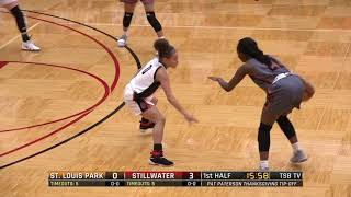 High School Girls Basketball: St. Louis Park vs. Stillwater