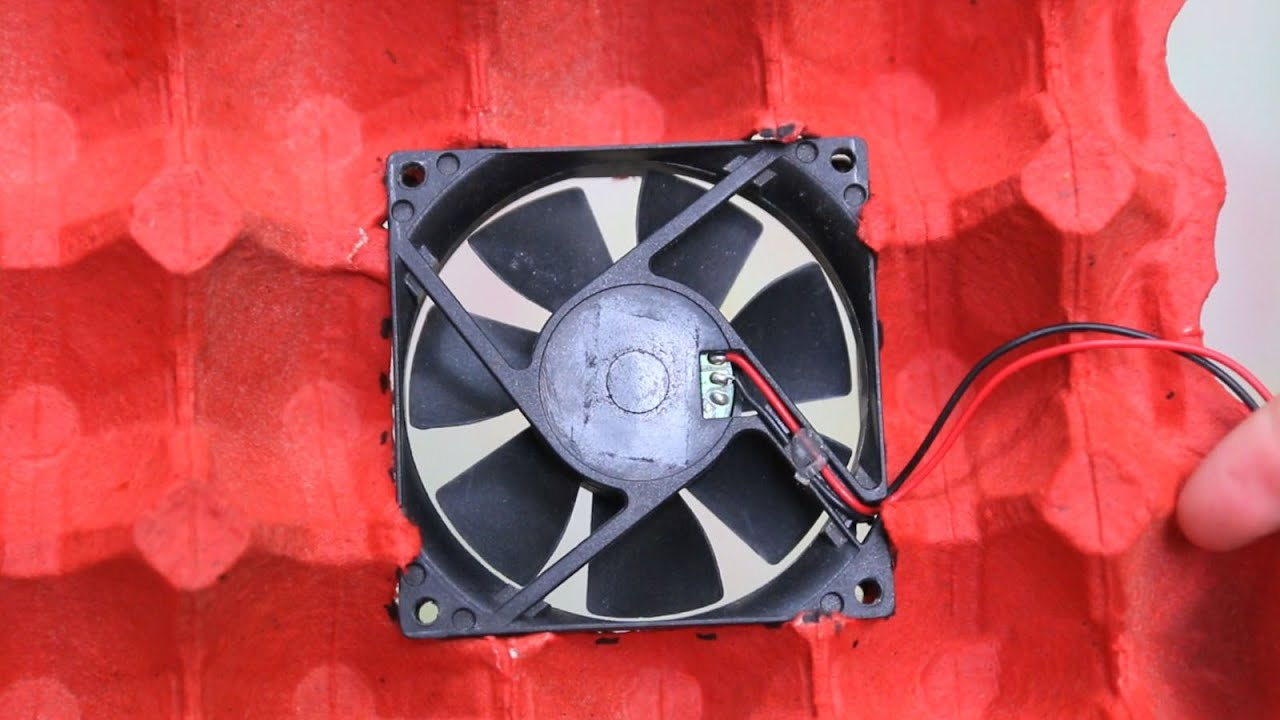 Охлаждающий вентилятор для ноутбука своими руками