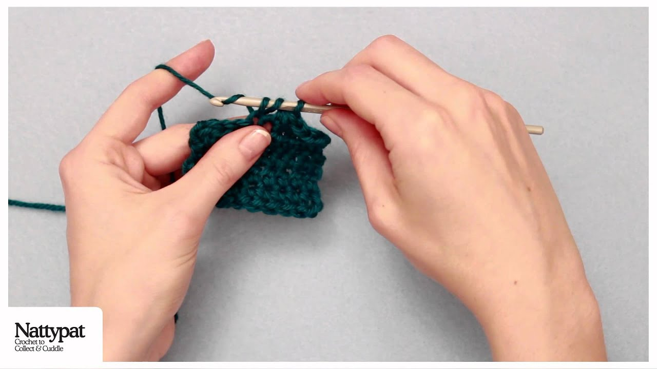 Crochet Stitch Guide: Half Double Crochet 2 Stitches Together (hdc2tog ...