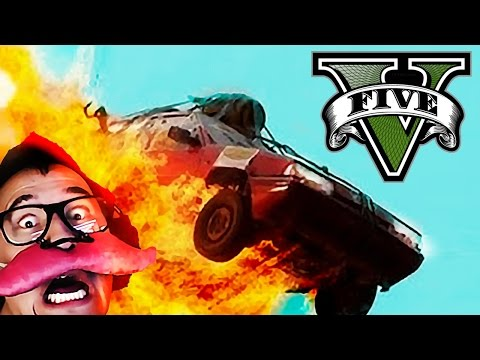 GTA V Funny Moments #1: LAUGHING TOO HARD!!