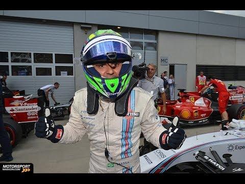 Felipe Massa interview after Qualifying in Austria 2014