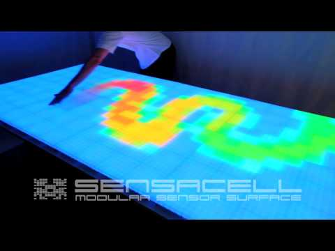 Sensacell - Interactive LED Table RGB - Movie 1