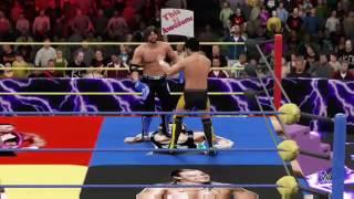 Backlash RIA MATCHES (WWE 2K16)